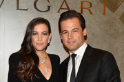 Actress Liv Tyler and president, Bulgari North America Daniel Paltridge attend the BVLGARI & ROME: Eternal Inspiration Opening Night on October 14, 2015 in New York City.