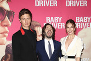 Edgar Wright Ansel Elgort Photos Photo