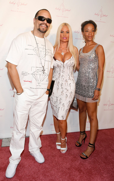 Ice T Pictures Baby Phat Amp Kls Collection Front Row