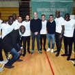 Bacary Sagna The Duke Of Cambridge Attends A Football For Peace Graduation Ceremony