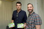 Timothy Simons and Tony Hale attend Backstage Creations Giving Suite At The Emmy Awards - Day 1 at Microsoft Theater on September 21, 2019 in Los Angeles, California.