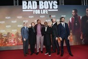 "Doug Belgrad, Jerry Bruckheimer, Will Smith, Martin Lawrence, Bilall Fallah and Adil El Arbi attend the Berlin premiere of the movie ""Bad Boys For Life"" at Zoo Palast on January 07, 2020 in Berlin, Germany."