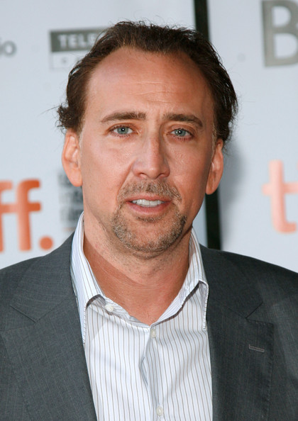 """Nicolas Cage Actor Nicolas Cage arrives at the """"Bad Lieutenant: Port Of Call New Orleans"""" screening held at the Ryerson Theatre on September 15, 2009 in Toronto, Canada."""