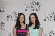Annemarie Dillard and Alexandra Dillard attend Badgley Mischka Celebrates The Kentucky Derby With Special Appearance At Dillards on May 1, 2014 in New York City.