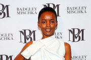 Flaviana Matata attends Badgley fashion show during New York Fashion Week: The Shows at Gallery I at Spring Studios on September 11, 2019 in New York City.