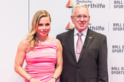 Regina Halmich and Guetner Halmich attend German Sports Gala 'Ball des Sports 2016' on February 6, 2016 in Wiesbaden, Germany.