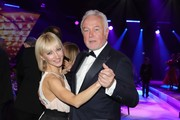 Aljona Savchenko and Wolfgang Kubicki attend Ball des Sports 2019 Gala at RheinMain CongressCenter on February 02, 2019 in Wiesbaden, Germany.