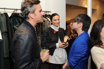 Balthazar Getty Rosetta Getty Christian Siriano Fall 2014 LA Preview & Cocktail Party