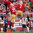 Alex Boone and Colin Kaepernick Photos