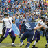Joe Flacco Photos - Joe Flacco #5 of the Baltimore Ravens throws a pass during the second quarter against the Tennessee Titans at Nissan Stadium on October 14, 2018 in Nashville, Tennessee. - Baltimore Ravens vs. Tennessee Titans