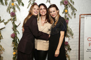 Anne Vyalitsyna, Agatha Luczo and Helena Suric attend the Bambini Furtuna Launch Brunch at The Little Owl Townhouse on January 14, 2020 in New York City.