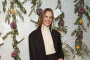 Anne Vyalitsyna attends the Bambini Furtuna Launch Brunch at The Little Owl Townhouse on January 14, 2020 in New York City.
