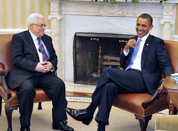 Barack Obama, Mahmoud Abbas - Barack Obama and Mahmoud Abbas Photos - US  Pres. Barack Obama Bilateral Meetings With Middle East Leaders - Zimbio