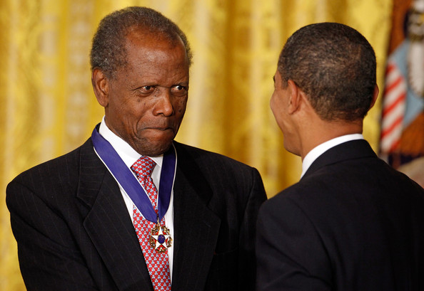 Image result for sidney Poitier medal of freedom