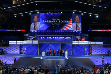 Barbara Boxer Democratic National Convention: Day Four