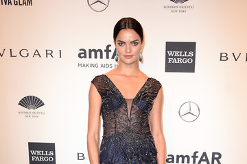 Barbara Fialho Arrivals at the amfAR New York Gala