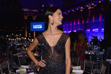 Barbara Fialho Inside the amfAR New York Gala