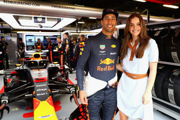 Barbara Palvin Spanish F1 Grand Prix