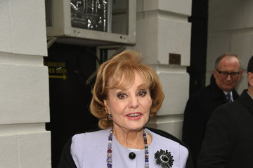 Barbara Walters 'Gigi' Broadway Opening Night - Arrivals And Curtain Call