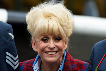 Barbara Windsor The Royal British Legion Launch London Poppy Day