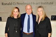 (L-R) Claire Yaffa, Ronald O. Perelman and Barbra Streisand visit the Ronald O. Perelman Heart Institute at New York Presbyterian Hospital on September 20, 2012 in New York City.