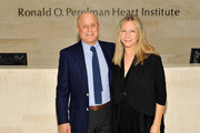 Ronald O. Perelman and Barbra Streisand visit the Ronald O. Perelman Heart Institute at New York Presbyterian Hospital on September 20, 2012 in New York City.