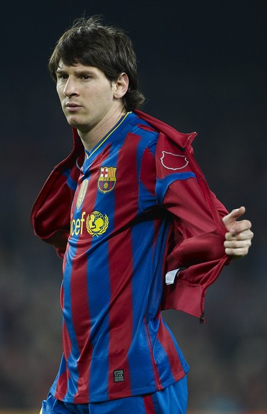 barcelona fc messi. Messi of FC Barcelona