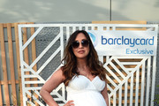 Myleene Klass attends Barclaycard Exclusive at Barclaycard presents British Summer Time Hyde Park on July 05, 2019 in London, England.