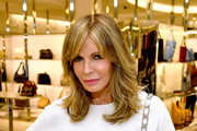 Actor Jaclyn Smith attends Barneys New York Celebration of the Farrah Fawcett Foundation at Barneys New York Beverly Hills on May 11, 2017 in Beverly Hills, California.