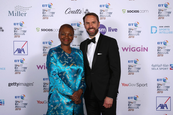 BT Sport Industry Awards 2019 [photo,event,award,world,carpet,employment,gareth southgate,baroness amos,celebrities,bt sport industry awards,best,england,world,l,showcase]