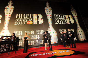 Barrie James O'Neil Brit Awards 2013 - Red Carpet Arrivals