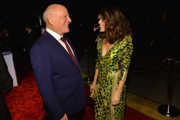 Barry Diller Diane Von Furstenberg's Journey Of A Dress Exhibition Opening Celebration - Red Carpet