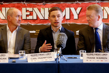 Barry McGuigan Carl Frampton Dereck Chisora Press Conference