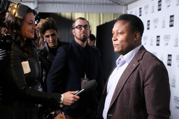 Barry Sanders LIFEWTR Art After Dark - Red Carpet Arrivals
