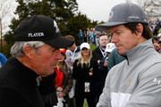 Mark Wahlberg Gary Player Photos Photo