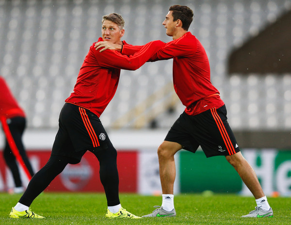 Manchester United Training and Press Conference []