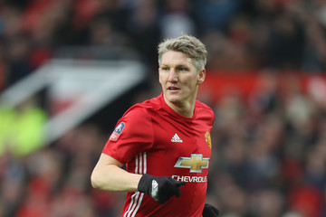 Bastian Schweinsteiger Manchester United v Reading - The Emirates FA Cup Third Round