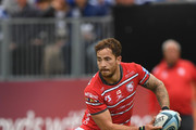 Gloucester player Danny Cipriani in action during the Gallagher Premiership Rugby match between Bath Rugby and Gloucester Rugby at Recreation Ground on September 8, 2018 in Bath, United Kingdom.