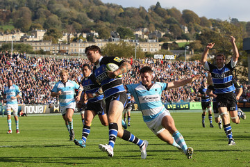 Ollie Hayes Bath v Worcester Warriors - LV= Cup