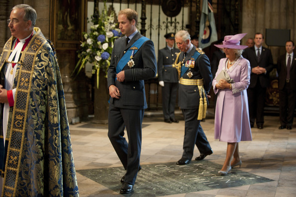 Battle Of Britain 70th Anniversary Service At Westminster Abbey