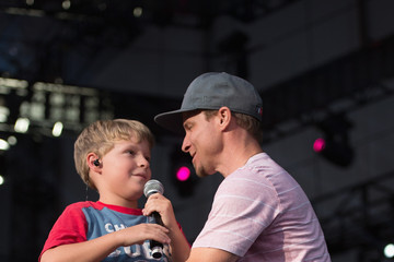 """Baylee Littrell Backstreet Boys """"In A World Like This"""" 2013 Tour - Opening Night"""