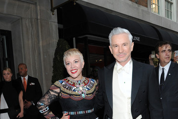 Baz Luhrmann Met Gala 2015 Departures From The Mark Hotel - NYC