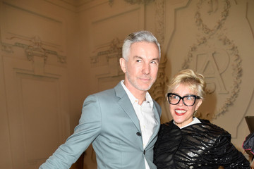 Baz Luhrmann Front Row at Jean Paul Gaultier
