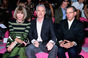 Baz Luhrmann Marc Jacobs - Front Row - Mercedes-Benz Fashion Week Spring 2015