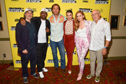 """Harmony Korine, Martin Lawrence, Matthew McConaughey, Stefania LaVie Owen, Isla Fisher, and Jimmy Buffett attend the """"The Beach Bum"""" Premiere 2019 SXSW Conference and Festivals at Paramount Theatre on March 09, 2019 in Austin, Texas."""