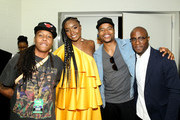 (L-R) Lena Waithe, KiKi Layne, Marque Richardson, and Barry Jenkins attend 'If Beale Street Could Talk' Movie Cast and Filmmakers at Essence Festival 2018 on July 6, 2018 in New Orleans, Louisiana.