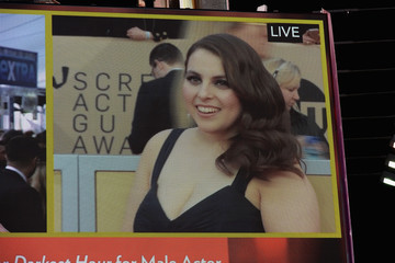 Beanie Feldstein 24th Annual Screen Actors Guild Awards - Times Square Viewing