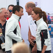 Bear Grylls The Duke And Duchess Of Cambridge Take Part In The King's Cup Regatta