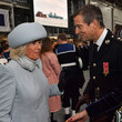 Bear Grylls The Duchess Of Cornwall And The Prince Of Wales Attend The Commissioning Ceremony Of HMS Prince Of Wales