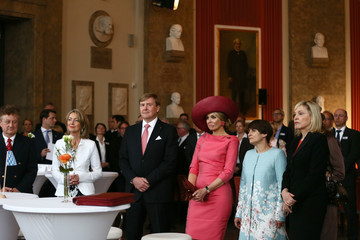 Beate Merk King Willem-Alexander And Queen Maxima Of The Netherlands Visit Bavaria - Day 1